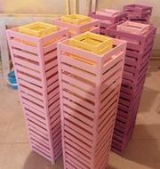 Декоративные деревянные ящики под подарки. Изготовление.
