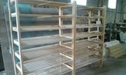 Стеллаж (витрина),  под хлебобулочные изделия,  деревянный.