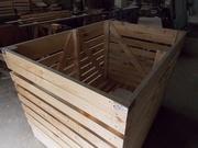 Контейнер деревянный для овощей  1600х1200х1200мм. Оптом.